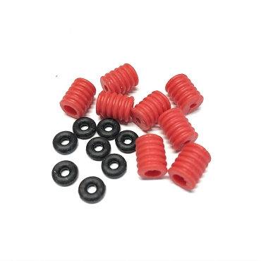 Shock Cushion Bump Stops 1:8 - Red