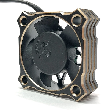 Team Thornhill 30MM Gold Aluminum High Speed Cooling fan
