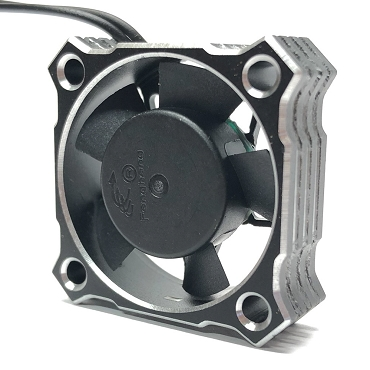 Team Thornhill 30MM Silver Aluminum High Speed Cooling fan