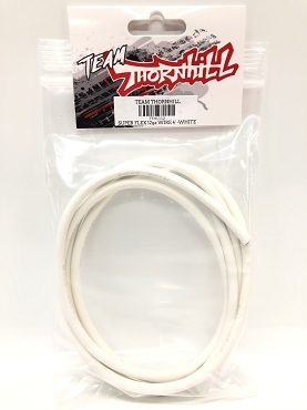 Super Flex 12 Gauge Silicone Wire 4' - White