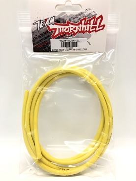 Super Flex 12 Gauge Silicone Wire 4' - Yellow